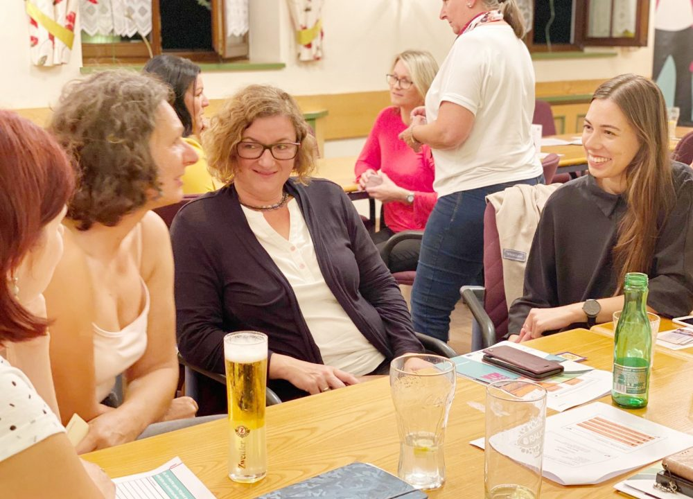 1. Netzwerktreffen am 2. September 2020 im Mohnhotel & Bergwirt Schrammel in Moidrams